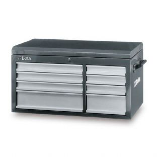 Beta C38T-G Top Chest With Eight Drawers (Gray)